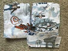 POTTERY BARN KIDS Star Wars LAST JEDI FULL 4 piece Sheet Set - NEW - Rare