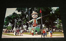 Awesome 1960's Gopher Statue, Minnesota State Fair Vintage Postcard