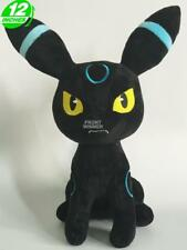 12'' Shiny Umbreon Plush Wow Pokemon Anime Stuff Animal Doll PNPL7275
