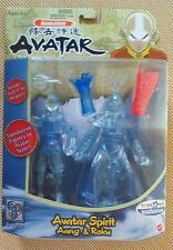 AVATAR The Last Airbender AVATAR SPIRIT AANG & ROKU Figure Set-VERY RARE & NEW !