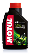 MOTUL 5100 4T 10W 40 OLIO MOTORE  MOTO 4 TEMPI SH SH SJ SL SM JASO 510 2T 10W-40