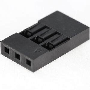 [25x] Dupont  Wire Jumper Pin Header Connector Housing - 1x3 - Male / Female