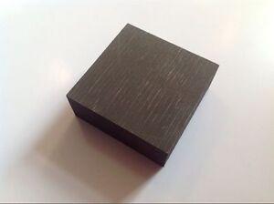 High Purity 99.9% Graphite Ingot Block 50mm * 50mm * 10mm