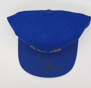 Ernie Banks Signed Chicago Cubs Hat Cap Autographed Signature Mr. Cub Stitched
