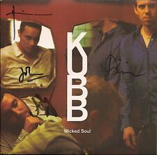 """Kubb Wicked Soul Autographed / signed sleeve UK 45 7"""" single +Picture Sleeve"""