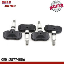 4PCS 25774006 OEM TPMS Tire Pressure Monitor Sensor For Cadillac Chevrolet GMC