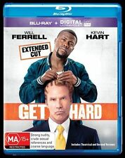 Get Hard (Blu-ray) Will FERRELL Kevin HART  New, ExRetail Stock, Genuine D55
