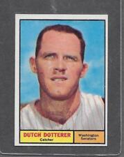 1961 Topps Baseball #332 Dutch Dotterer EX-MT+ *5379