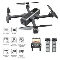 Holy Stone HS550 Foldable Brushless Drone 2K FHD Camera GPS Quadcopter 2 Battery