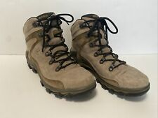 Women's Ecco Hiking Boots Gore-Tex Yak 39 Meandering Brown Lace Up