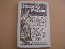 Célèbre musicien Joseph Haydn L. Schmidt vie-caractère Images édition 1898