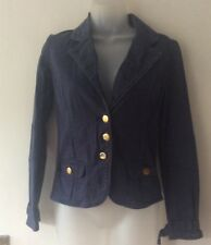 jane norman blue jacket size 8