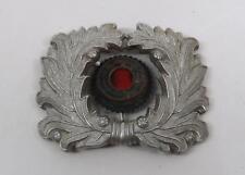 WW2 Officer visor cap hat dress military German wreath cockade badge pin medal