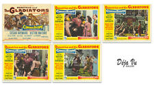 Demetrius and the Gladiators Lobby Card Set of 5  - 1954 - VF