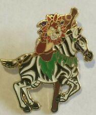 Chip n Dale on Zebra King Arthur Carousel LE 1600 disney ride  pin  N
