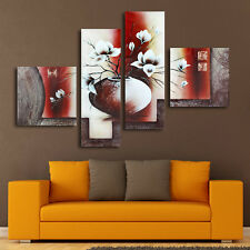 4Pcs Large Abstract Canvas Prints Painting Picture Unframed Wall Art Home Decor
