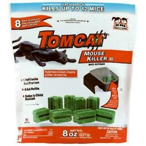 TOMCAT Mouse Mice Rat Poison Rodent Control Killer Bait Rid Trap INTERNATIONAL