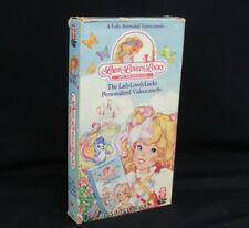 Rare Personalized Lady Lovely Locks and the Pixietails VHS Tape Mail Away Hi-Top