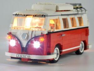 MTELE LED  KIT FOR LEGO 10220 VW T1 CAMPER VAN + USB AA POWER BANK NEW a19