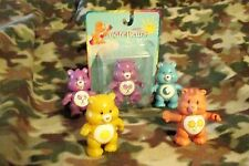 Four 2003 Care Bears Bedtime Share Sunshine Bear 1983 original Friend Bear