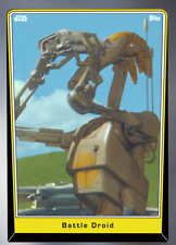 Topps Star Wars Card Trader Battle Droid Silver Base Variant [DIGITAL] 250cc