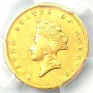 1855-O Type 2 Indian Gold Dollar (G$1 Coin) - PCGS XF40 (EF40) - $1,350 Value!