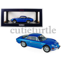 Norev Renault Alpine A110 1600S 1:18 Model Car 185300 Metallic Blue
