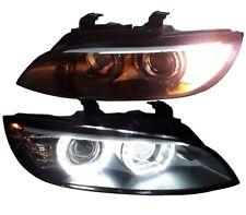 XENON SCHEINWERFER BMW E92 E93 05-08 mit AFS SCHWARZ D1S H3 HID TAGFAHRLICHT LED