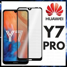For HUAWEI Y7 PRO CURVED SCREEN PROTECTOR 9D FULL COVER GORILLA TEMPERED GLASS