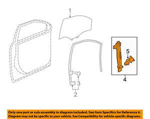 Buick GM OEM 08-15 Enclave Front Door-Window Regulator 20783375