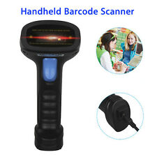 1D/2D Code USB Bluetooth CCD Barcode Scanner Handheld For iPhone Android PC