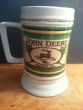 John Deere Beer Stein With Logos and Tractor 2006 The Encore Group l New In Box