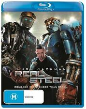 Real Steel (Blu-ray, 2012) New & Sealed - Hugh Jackman