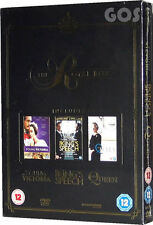 The Kings Speech - Young Victoria - The Queen - Royal Boxset Triple DVD Film New