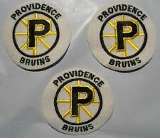 Providence Bruins 3 Patches Nice Condition