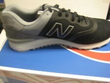 New Balance Men's MTL 574 DC Re-Engineered Shoes Black with Grey