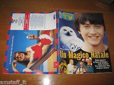 TV SORRISI E CANZONI=2001/52=TOSCA D'AQUINO=DANIEL RADCLIFFE HARRY POTTER=CHER=