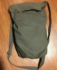 Swiss Army Drab Olive Green Gas Mask Bag Hiking Camping Biking Gear Pack Satchel