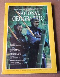 National Geographic Magazine - October 1980 - Chesapeake Bay - Albania