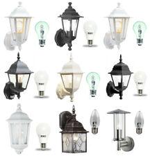 Traditional Garden Wall Lanterns / Outdoor Motion Sensor Lights / LED or Halogen