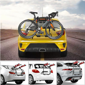 Universal 2 Bike Bicycle Car Carrier Rack Rear Mount For SUV SALOON HATCH ESTATE