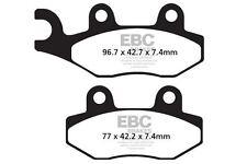 FIT APACHE  RLX 250 SX (MK1) Rear Disc Model  EBC REAR ORGANIC BRAKE PADS