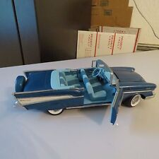 1957 CHEVY BEL AIR CONVERTIBLE ERTL 1:18 SCALE DIECAST