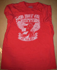Red Hot Chili Peppers By the Way Tshirt Tee Vintage Large Red Missing Image