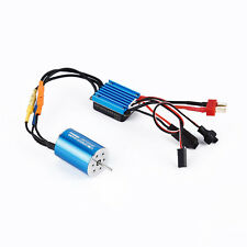 2435 4800KV 4P Sensorless Brushless Motor & 25A Brushless ESC for 1/16 RC Modell