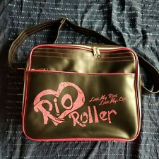 Stylish Rio Roller - Fashion Bag - Black/Pink - Messenger Bag