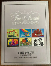 TRIVIAL PURSUIT The 1980's Add On Card Set