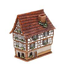 cerámica casa de velas lichterhaus forjado ESSLINGEN RESTAURANTE ROSA 13cm 40568