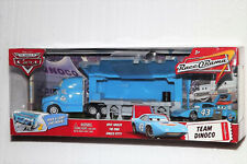 DISNEY CARS THE KING TEAM DINOCO HAULER RACE O RAMA NEW