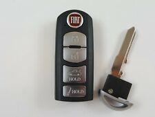 FIAT 124 SPIDER 17-18 ORIGINAL OEM FOB SMART KEY LESS ENTRY REMOTE BLANK UNCUT